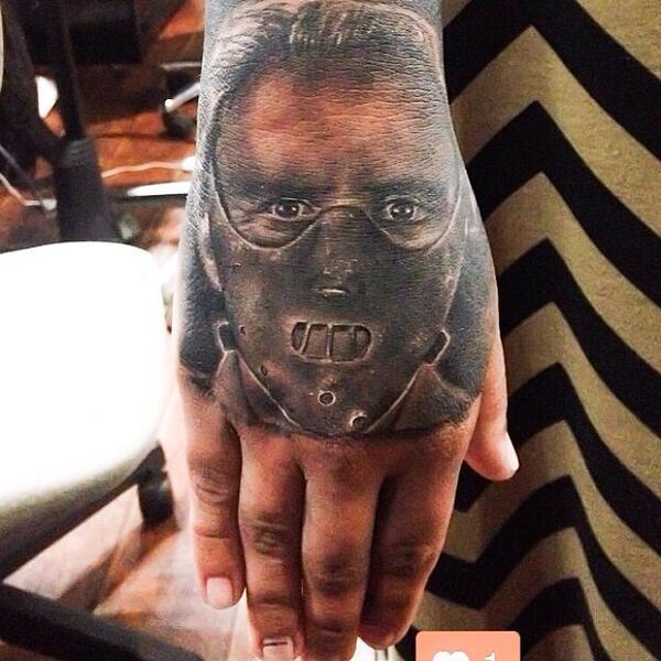 Illuminati Tattoo On Twitter BlackandGrey Hannibal Hand By Juan Zarate IlluminatiTatt Tco Fww0a83Vh5