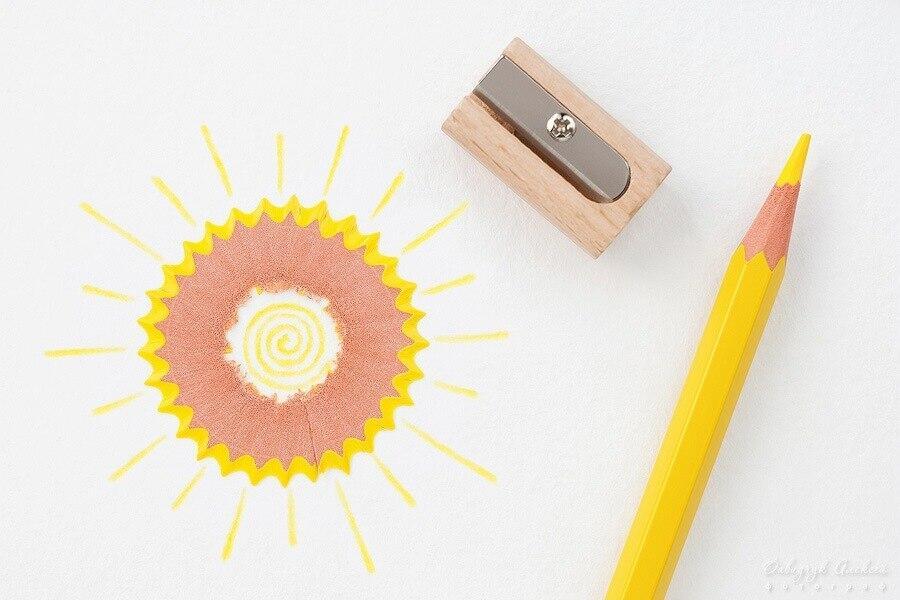 картинки из очистков карандашей течи