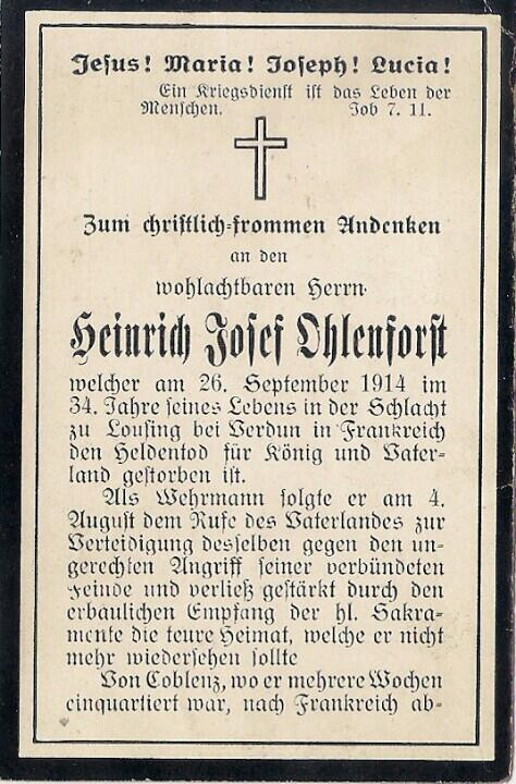 A distant ancestor, who fell already in september 1914. See at @opfer1914 (in German) #ww1archives http://t.co/CTSN9ZBQwb