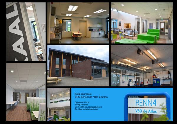 Kate Interieur Design Impressies.Ixilum Licht On Twitter Impressie Renn4 Vso School De Atlas