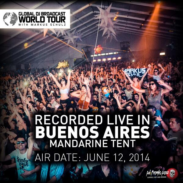 This week on #GDJB: World Tour episode recorded live in Buenos Aires from #MandarineTent / http://t.co/wWjt01KXUi