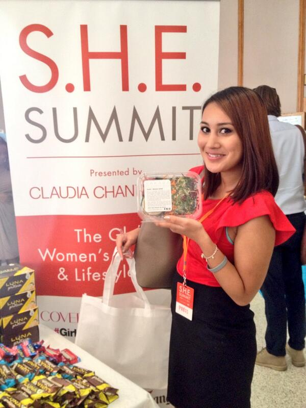 One of the coolest parts of working at @FindSpark is that we get to go to cool events like @claudiachan's #SHESummit http://t.co/SjGjw0JB1V