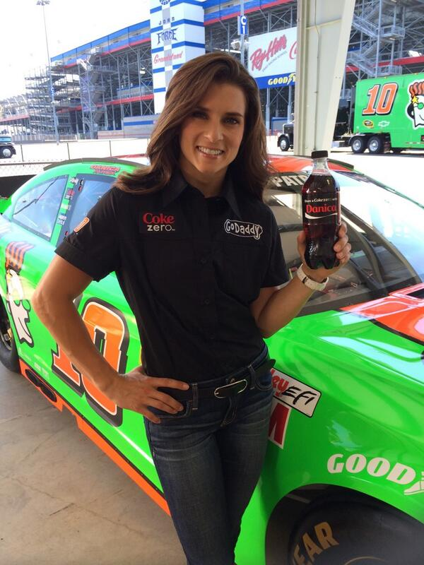 Shooting new @CocaColaRacing commercials today! Grab a Coke Zero like @DanicaPatrick & #ShareaCoke with a friend. http://t.co/riYn4akuHE
