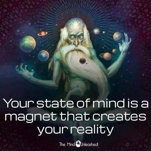 Twitter / JoyAndLife: Your state of mind is a magnet ...
