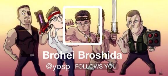 The most important #E32014 news: @yosp is no more -- long live Brohei Broshida! \(^O^)/ http://t.co/QdGqKnhKhR