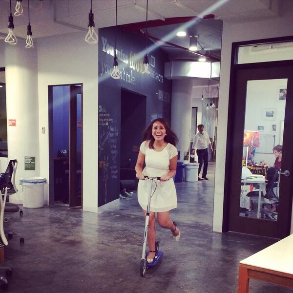 Time for a little scooter break at the @csiSL. #internlife #officescooter http://t.co/pctEbKpO5d