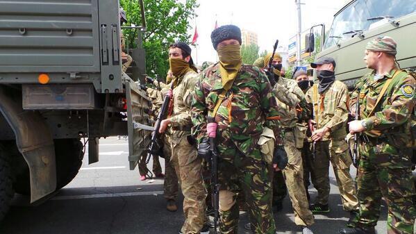 В Снежном растет количество террористов, - ДонОГА - Цензор.НЕТ 5532