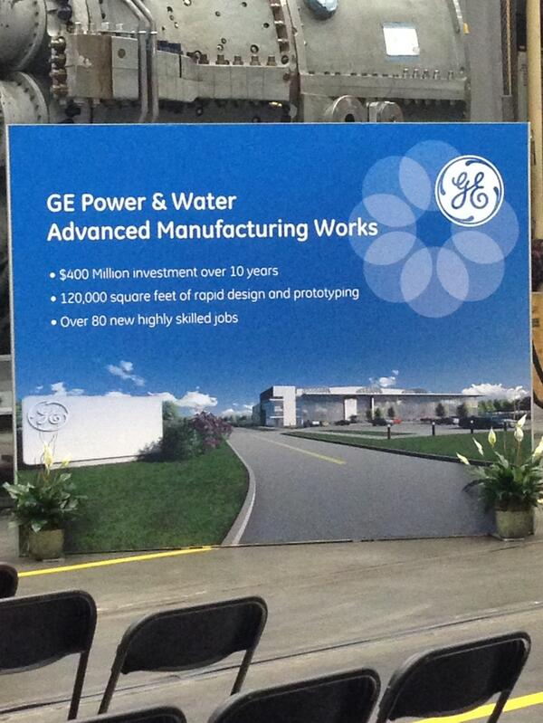 GE Power & Water Advanced Manufacturing Works in Greenville, SC