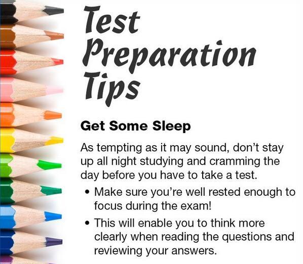 Kampus Update On Twitter Make Sure To Get A Good Night S Sleep Before An Exam Updaters Http T Co Ekulyvsgiy