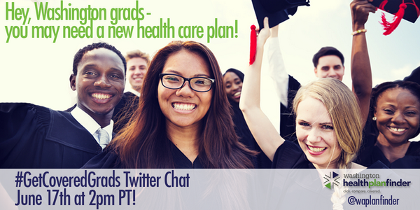 NEW GRADS: Join us on 6/17 at 2pm w/ @YoungInvincible to learn about your health plan options! #getcoveredgrads #WA http://t.co/BMwGJ2qWuA