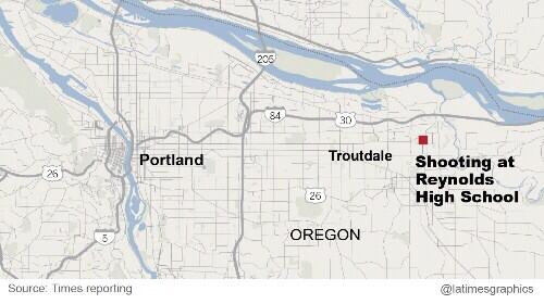 Thumbnail for Local media reports: Oregon school shooting