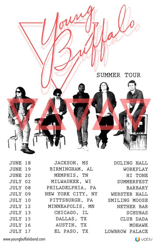 Playin shows this summer with @TheWhigs and @TheCrookes !! Tix here: http://t.co/nrsWwJGaSS
