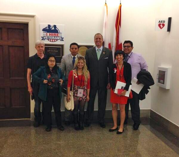 #timeisnow MT @fast4families Hearing @RepJeffDenham's support for #immigration reform always lifts our spirits http://t.co/b6dMoeX9O1