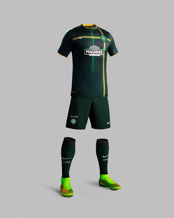 Dunno about anyone else, but I love the new Celtic away kit 2014/15. http://t.co/hr7ZxjCIFa
