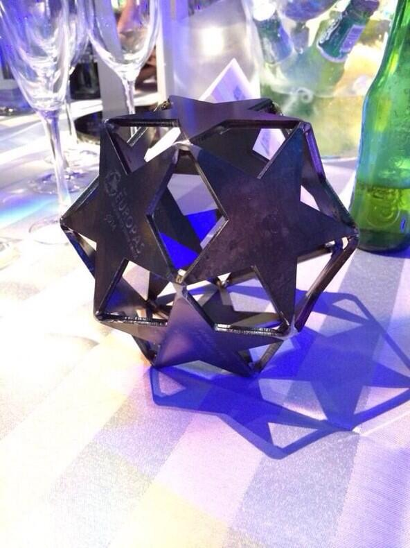 We just won Best Accelerator at the @TheEuropas thank you all!!! YEAH!!! #accelerator #startups #TheEuropas http://t.co/IknDn2ycxX
