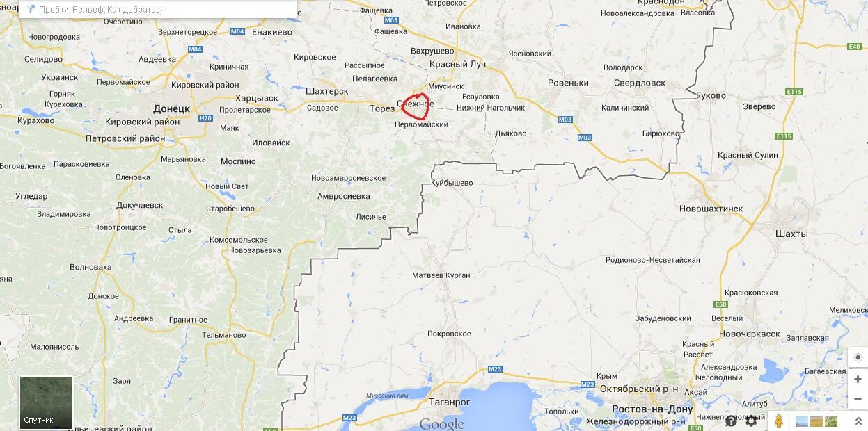 Террористы безуспешно пытаются вырваться из окружения сил АТО в Славянске - Цензор.НЕТ 4523