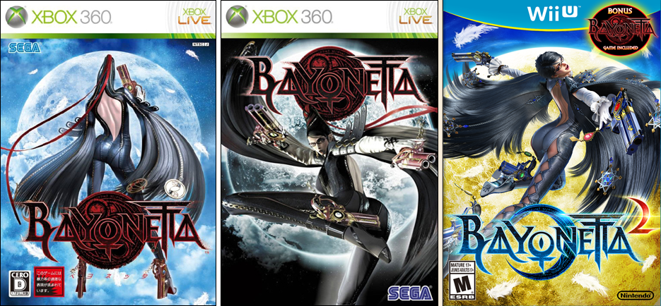 Bayonetta 2 Box Art Three Bayonetta Box Arts