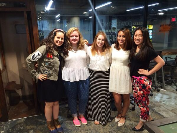 Meet @FindSpark's girl-powered #intern team! @funkyinnovator @xtinamadsen @katierday @victoriacana @emrleung. http://t.co/ZikRfDZ3ce