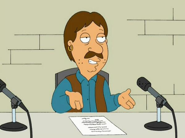 Oh hey y'all, RT if you're readin' this post in my voice. I betcha are. #familyguy http://t.co/RiXuPaAPhn