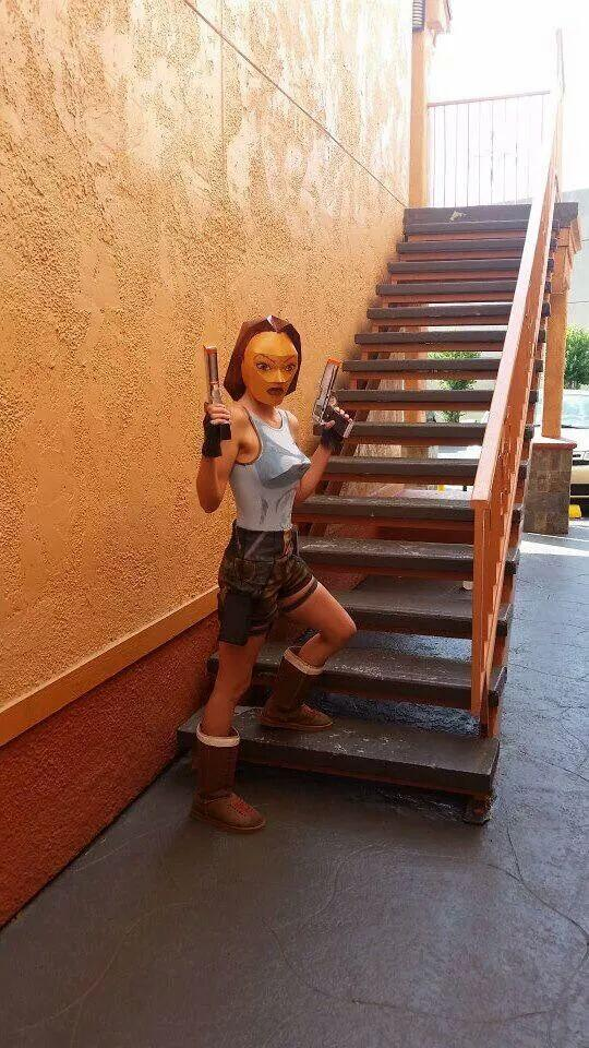 How can anyone top this Lara Croft cosplay http://t.co/t0A8vyh08U