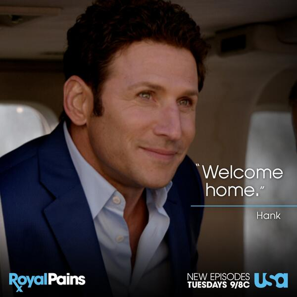 Retweet if you're excited for Hank to be back home. #RoyalPains http://t.co/IW7zDTKqPd