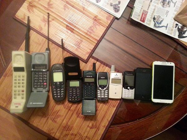 Zack Morris would be proud. // RT @TheRealSheldonC: 30 years of cellphones. http://t.co/ouvvO9rK6l