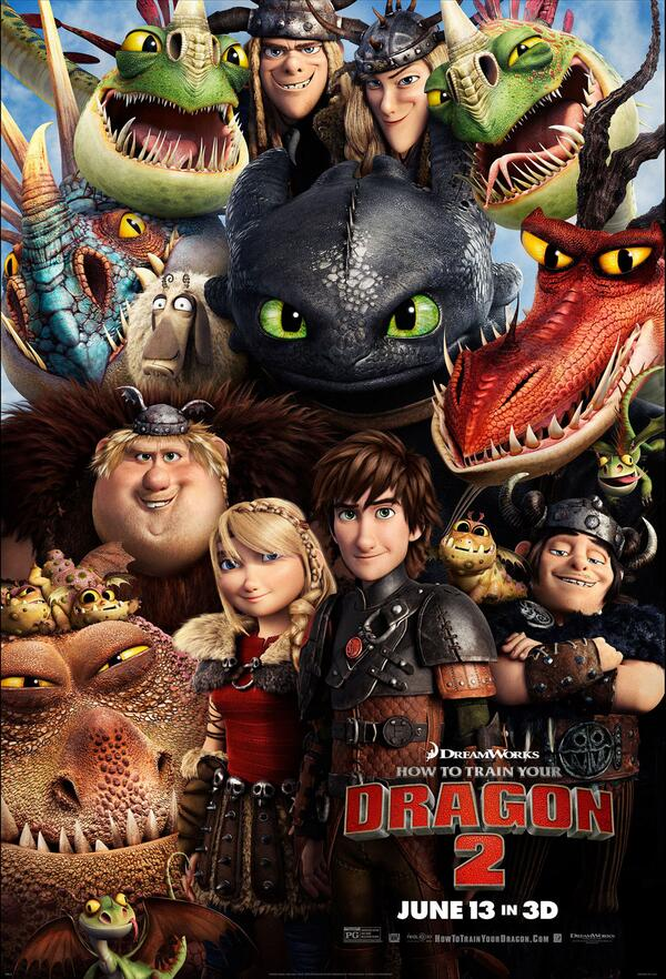 How To Train Your Dragon 2 hits theaters this Friday June 10 #HTTYD2chat http://t.co/wj3UTiw9y2