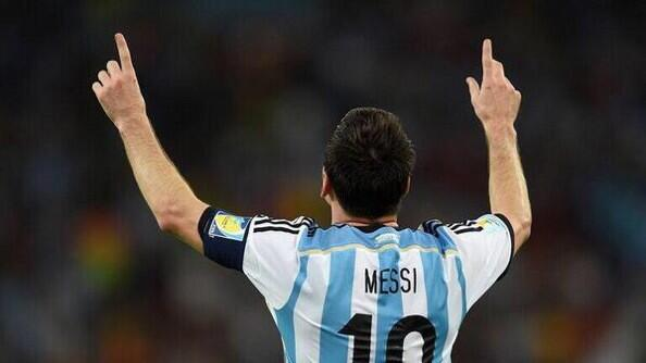 Twitter / FutballTweets: If MESSI scores first against ...
