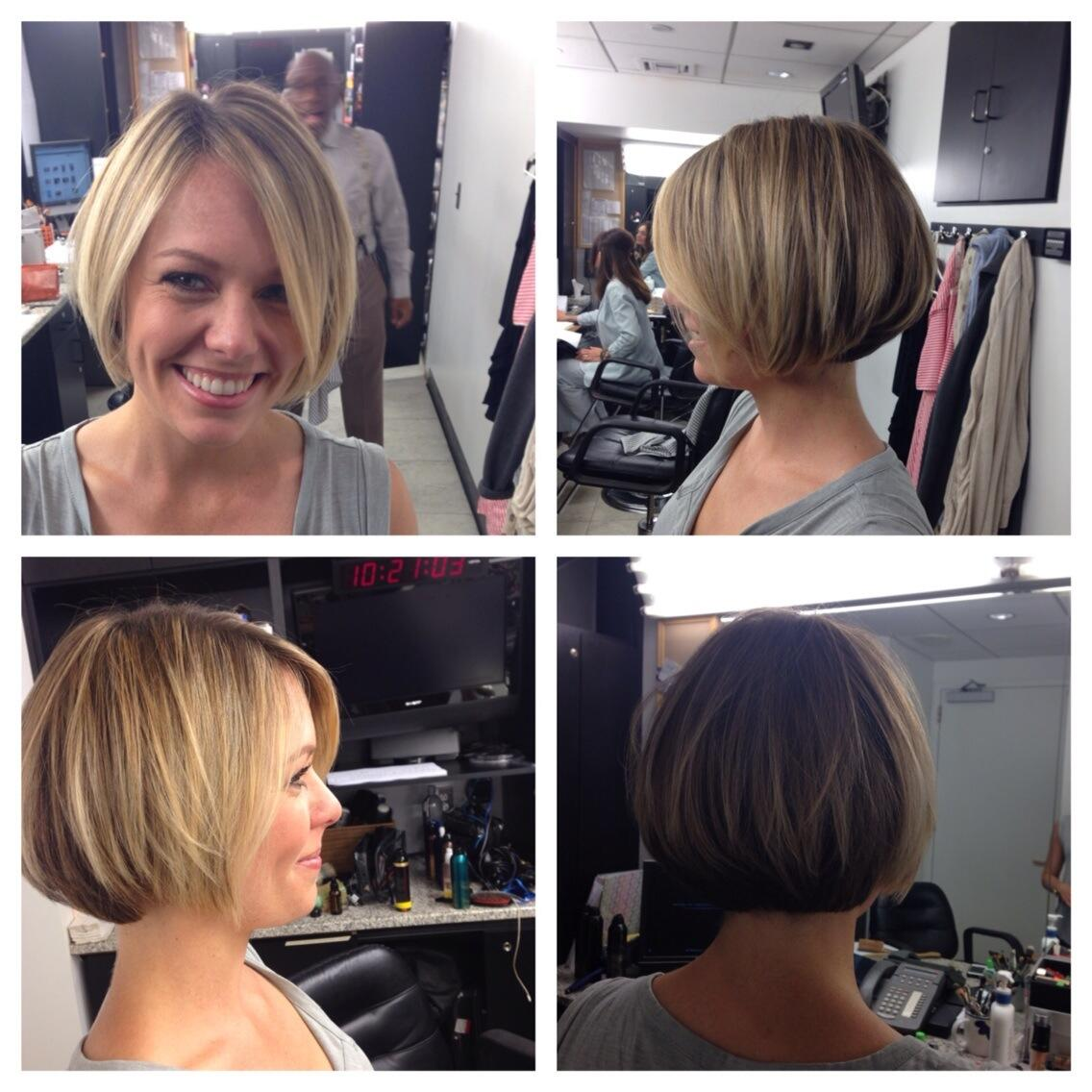 Dylan Dreyer Haircut