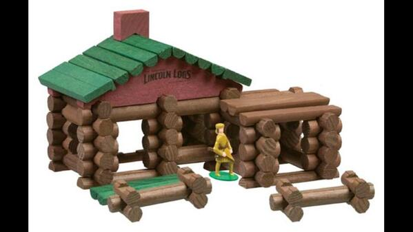 Just learned that Lincoln Logs were invented by @Guggenheim architect Frank Lloyd Wright's son. http://t.co/7m7BhAWSDe