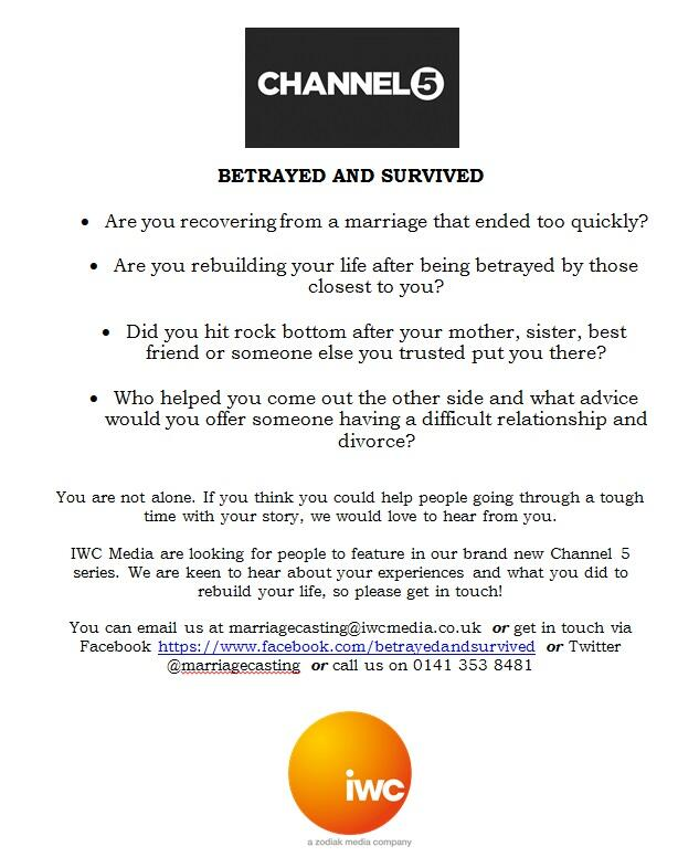 RT @MarriageCasting: Hey @NolanColeen  chance of a RT? We are casting for a new TV show! Get in touch marriagecasting@iwcmedia.co.uk http:/…