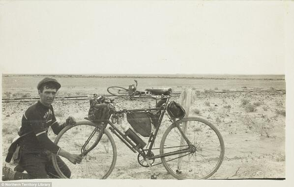 Bikepacking before it was cool: Australia in the early 1900s