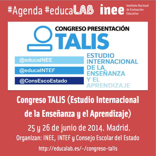 Enlace al programa definitivo del Congreso TALIS: http://t.co/08duaQNa8Y @educaINEE @educaINTEF @ConsEscoEstado http://t.co/NuJWgiKMAT