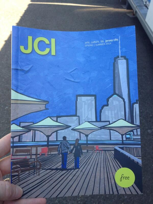 #JCI Spring/Summer issue is out! Cover art by @KaytHester #jerseycity http://t.co/9sLBVXBJmv