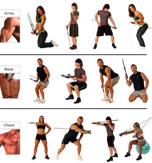 ejercicios bandas elásticas espalda