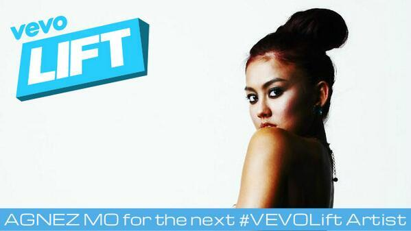 Agnez sebagai The Next Vevo Lift Artist, Setuju?/Twitter©