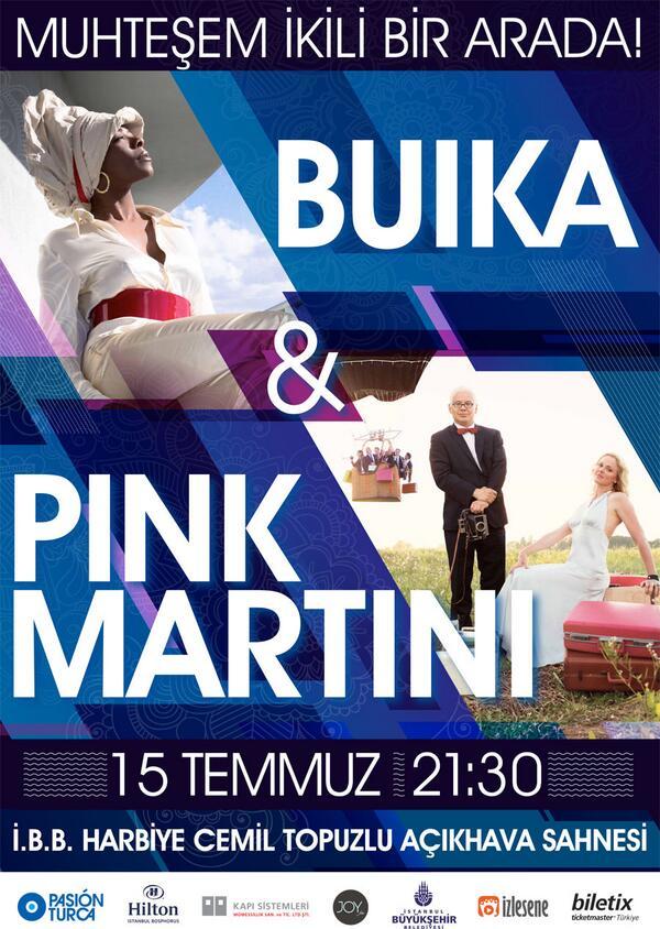15 Temmuz'da Harbiye Açik Hava Tiyatrosu'nda @BuikaMusic ile ayni gecede sahne alacagiz! http://t.co/fph0ElePP1 http://t.co/LMzJ5O8Kqb