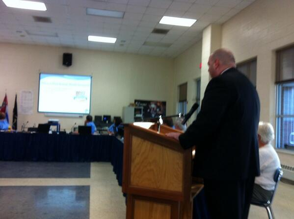 "High School Principal Jeffrey Hartmann announces #Pottstown HS is ranked as a ""Bronze"" by US News & World Report. http://t.co/fa8ITAkdfJ"