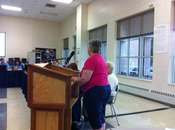 Dianne Krum, a Golden Sage volunteer urges board not to cut special ed aides. http://t.co/BXL3yZqKMA