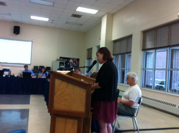 Michelle Dougherty, 15 years special ed experience & her son is special Ed @ Franklin, says program does not compare http://t.co/VfsheR7QpO