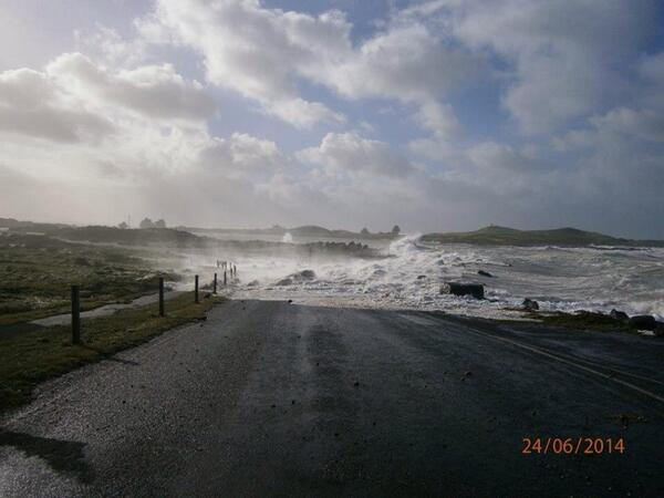 More wild weather RT@freya_cole Wild seas back home! Great photo via Port Fairy Visitor Info Centre #weather #storm http://t.co/MaUS9hYtoa