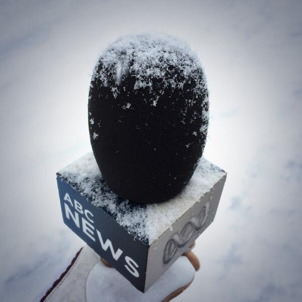 Never a dull moment on the road for @abcnews #Thredbo #blizzard http://t.co/qNaY8SjJSf