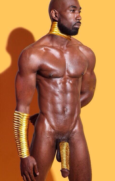 Gay Black Man With Big Cock