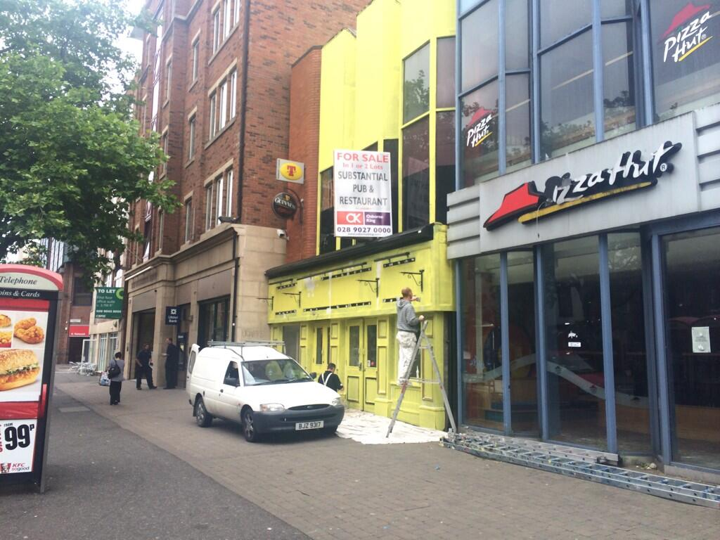 Love Belfast On Twitter Aunt Annie S Is Coming Back In Yellow Thebarwithnoname In Belfast Any Suggestions Http T Co 8e0cxmoa38