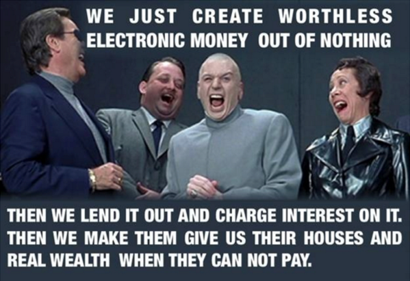 Banks create fiat currency and debt in unlimited supply and acquire the world with it http://t.co/HnC39vxI0v LOOK -> http://t.co/cFD1zil4FU