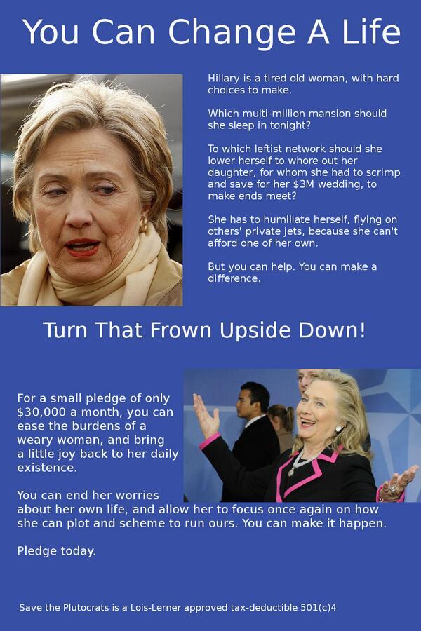 Poor Hillary