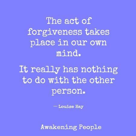Twitter / JoyAndLife: The act of forgiveness takes ...