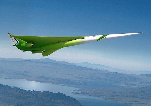 NASAの最新の超音速旅客機、ほんとにどっからどうみてもこりゃネギだわ http://t.co/DdRejnqaSL