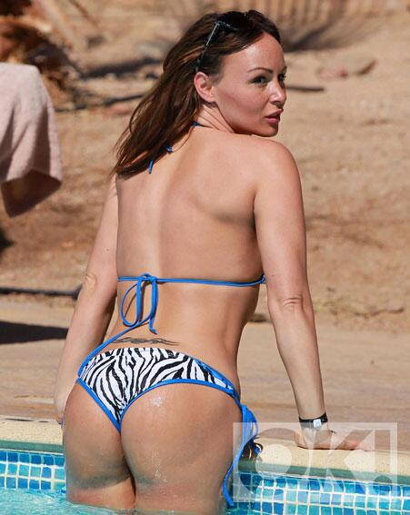 Chanelle hayes and ass