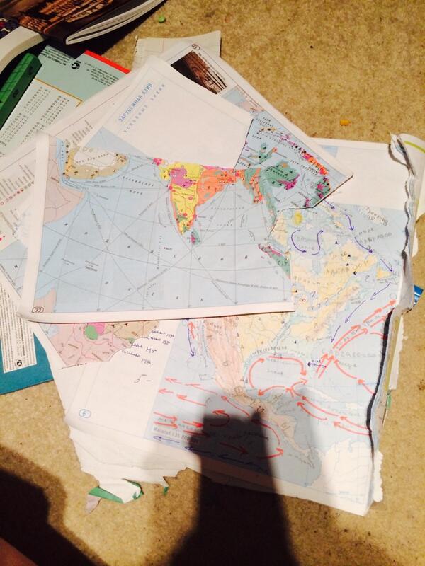контурные карты 9 класс ответы